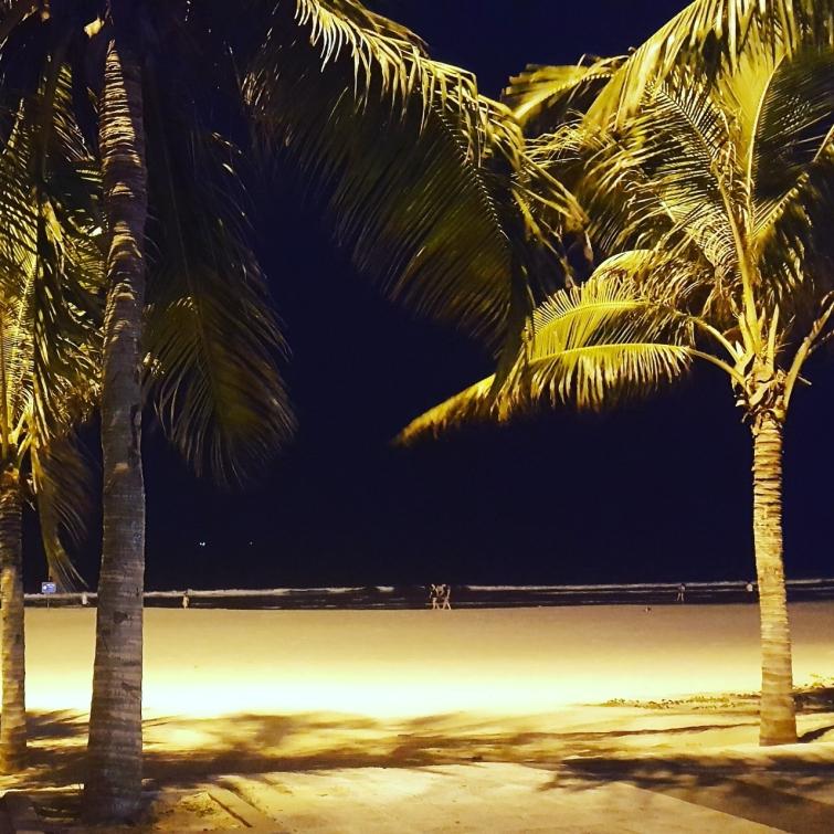 베트남 풀빌라 미케비치 연결된 야간모습